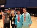 Australian Wushu Team in Hong Kong 2013 - With Hong Kong Coach