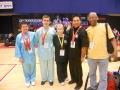Australian Wushu Team in Hong Kong 2013 - With Friends from USA