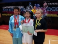 Australian Wushu Team in Hong Kong 2013 - With a Young Athlete
